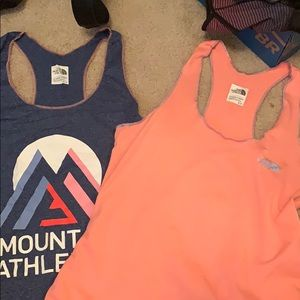 2 North Face Tanks
